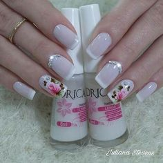 Cute Nail Art, Cute Nails, Peach Nails, Summer Acrylic Nails, Gel Nail Designs, Coffin Nails, Pedicure, Nail Colors, Beauty Hacks