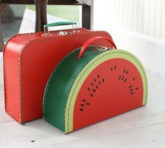 Vintage Watermelon Case. Okay, I have a few exceptions to the black rule, I guess.