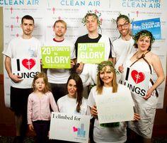 StairClimb for Clean air 2013