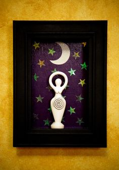 Spiral Goddess Diorama by TheMadPlaquer on Etsy, $35.00