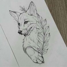 fuchs fuchs tattoo design - The world's most private search engine Tattoo Sketches, Drawing Sketches, Tattoo Drawings, Art Drawings, Drawing Ideas, Fox Tattoo Design, Tattoo Designs, Nail Designs, Tattoos Motive