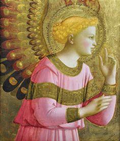 Fra Angelico. VUELE EN AIR CAELSIUS  la compañia de los angeles