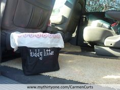 Now I will finally have a clean car! Well at least the Thirty-One mini utility bin will help with the kids trash. http://www.mythirtyone.com/CarmenCurts/