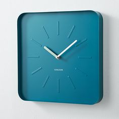 memphis wall clock in clocks | CB2