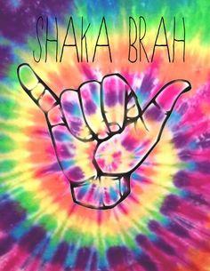 Shaka Brah tie-dye print