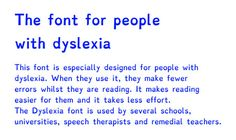 Printing class worksheets in the #Dyslexia font would boost productivity and aid…