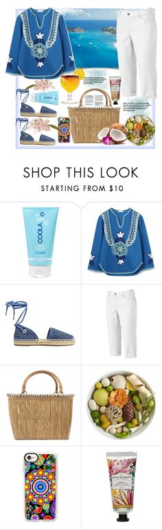"""Trinidad and Tobago Travel Outfit"" by natalyapril1976 on Polyvore featuring Mode, COOLA Suncare, Tory Burch, MICHAEL Michael Kors, Croft & Barrow, Serpui, Pier 1 Imports, Casetify und David Jones"