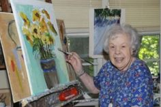 """Age, disability do not slow local artists to be displayed in Rowayton-  """"Ageless Art"""" 