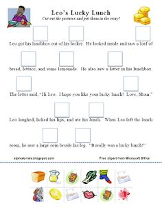 Ms. Lane's SLP Materials: Articulation-Initial L Story Activity. Pinned by SOS Inc. Resources. Follow all our boards at pinterest.com/sostherapy for therapy resources.