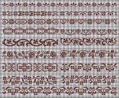 Santa Cross Stitch, Cross Stitch Bookmarks, Cross Stitch Baby, Cross Stitch Charts, Cross Stitch Sampler Patterns, Cross Stitch Borders, Cross Stitch Samplers, Blackwork Embroidery, Cross Stitch Embroidery