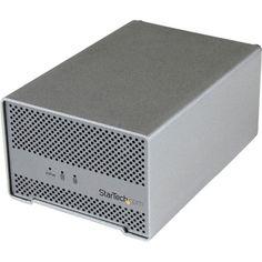 StarTech.com Thunderbolt Hard Drive Enclosure with Thunderbolt Cable #S252SMTB3
