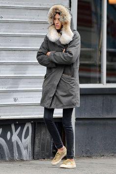 Alexa Chung in New York, 21st January, 2013 (1)