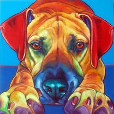 """RON Burns artist I just finished painting """"Sammy"""". Although Sammy left his people a while ago, they wanted something to remember him furever. We went through photos, did sketches, shed a tear or two and decided on an earlier shot of Sammy when he was a little younger and in his prime. Here is """"Sammy"""":"""