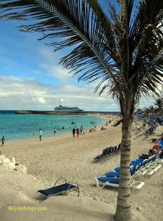 Great Stirrup Cay Photo Tour and Commentary page 1 Norwegian Cruise Line's private island in The Bahamas http://www.beyondships.com/NCL-GreatStirrupCay.html  (Updated and expanded May 2014)  #travel #cruise