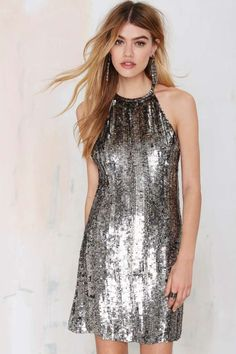 MLV Money for Nothin' Sequin Dress | Shop Dresses at Nasty Gal