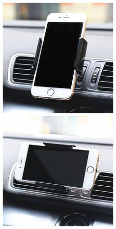 Phone holder in the car, get it for you to watch map in the car.