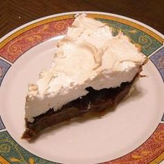 I hope to make some of this Margaret's Southern Chocolate Pie Recipe - Allrecipes.com: the BEST chocolate pie recipe When I lived in Louisiana my neighbor used to make a killer chocolate pie so I hope this one tastes as good.