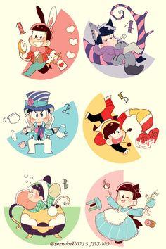 Page 3 Read Crossovers from the story Cómics de Osomatsu-san (hay Yaoi by (Flarmin) with reads. Dark Anime Guys, All Anime, Anime Art, Manga, Onii San, Osomatsu San Doujinshi, Gakuen Babysitters, Gekkan Shoujo Nozaki Kun, Fanart