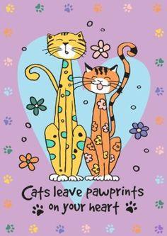 Kitty Paws Garden Flag $11.99