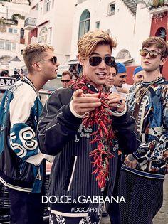 Cameron Dallas for Dolce & Gabbana