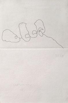 """Eduardo Chillida """"Esku XXXIV"""" Aguafuerte 1994 21 x 14.5 cm Tirada de 50 Firmado y numerado a mano Enmarcado Koelen 94004 Precio: 3.000 euros  Web: www.grabadosylitografias.com Más información y consultas: galeria@grabadosylitografias.com"""