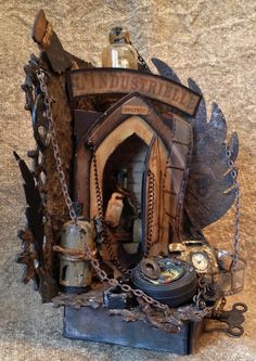 Image result for tim holtz arch frame die project ideas
