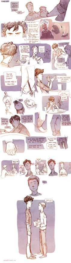 Teen Sherlock - The returns of John Watson by DrSlug on deviantART