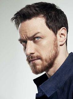 James McAvoy. Dark hair, ginger beard. Okaaay.