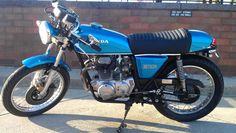 1976 Honda CB360 built by yours truly. Phase 1 of 2.