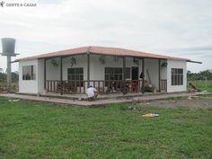 Venta De Casas Prefabricadas - COL-33096 Adobe House, Tiny House, House Plans, Shed, Farmhouse, Construction, Cottage, Outdoor Structures, Patio