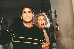 Josh Hartnett and Michelle Williams in Halloween 20 Years Later Halloween H20, Halloween Series, Halloween Horror, Michelle Williams, Michael Myers, Scary Movies, Horror Movies, Love Movie, I Movie