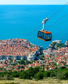 Whats the best way to see #Dubrovnik? This gorgeous tranquil Croatian city is especially beautiful when viewed from above while riding its famous cable cars. But you can also take in the charms of Old Town up close by booking a small-group walking tour on TripAdvisor. Double tap if either option sounds appealing!