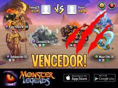 Eu domino en Monster Legends! Se você ousa me desafiar, comece a colecionar monstros! http://m.onelink.me/8651e4be
