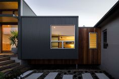 Energy Efficiency Redhead Alterations by Bourne Blue Architecture (via Lunchbox Architect) #COLORBONDsteel