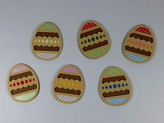 Apliques decorativos Ovos da Páscoa. Tema Páscoa.