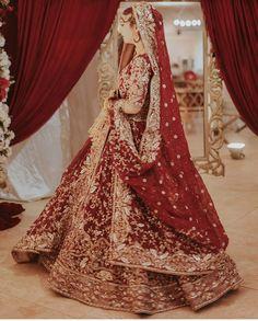 Latest Bridal Dresses, Asian Bridal Dresses, Simple Pakistani Dresses, Indian Bridal Outfits, Pakistani Bridal Dresses, Pakistani Wedding Dresses, Pakistani Dress Design, Wedding Lehenga Designs, Shadi Dresses