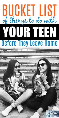 When you're approaching your child's senior year you will realize that you don't have much time left with your teenager. Here's the perfect bucket list of seven things to do before your teenager leaves the nest and goes away to college. Raising Teenagers, Parenting Teenagers, Parenting Advice, Parenting Websites, Parenting Humor, Senior Year Of High School, High School Seniors, College School, Parental