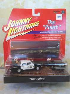 '55 CHEVY HOT ROD & '63 POLICE CRUISER - THE POINT - JOHNNY LIGHTNING - 1:64 #JohnnyLightning  #Police #Chevy