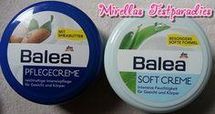 Außerdem bekam ich von dm zum Testen die Balea Pflegecreme und die Balea Softcreme.