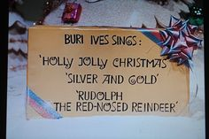 rudolph the red nosed reindeer intro Rudolph's Shiny New Year, Misfit Toys, Mrs Claus, Rudolph The Red, Red Nosed Reindeer, Mary Elizabeth, Greatest Songs, All Things Christmas, Holidays And Events