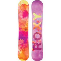 Roxy Sugar Banana Watercolor Snowboard - Women's 2015