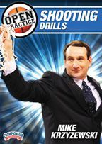 Mike Krzyzewski - Open Practice: Shooting Drills - Coach's Clipboard #Basketball DVD Store