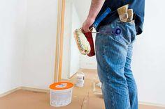 lessivage mur avant peinture