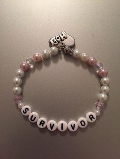 Breast Cancer Survivor Stretch Bracelet