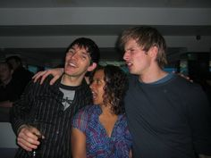 Colin, Angel, Bradley are having fun -