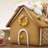 """銀座コージーコーナー各店で、埼玉県在住の少年がデザインした、まるで""""お菓子の家""""のようなクリスマスケーキを商品化。200台限定で予約を受付中です。"""