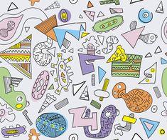 Alphabet Sounds Clip Art: Phonics Graphics for Commercial Use, color & line art Doodle Art Letters, Doodle Art Journals, Griffonnages Kawaii, Doodles Kawaii, Logo Floral, Travel Doodles, Handwritten Text, Alphabet Sounds, Baby Elefant