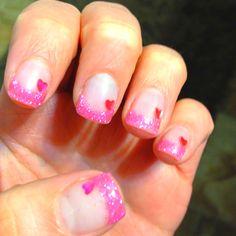 Valentines nails <3