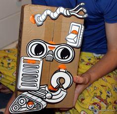 Easy Robot Craft For Kids