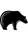 Native American Bear Symbol